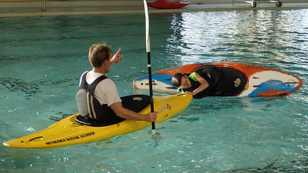 Muskoka Kayak School Pool Sessions